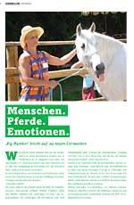 Call Center Scout: Menschen Pferde Emotionen