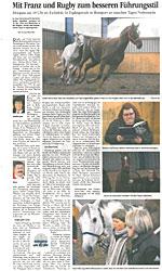 Goettinger Tageblatt Pferde Manager Gerd Krebs