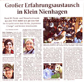 Ostsee Zeitung EAHAE 2009