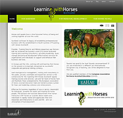 Learning with Horses Lee Watson Hall Scotland