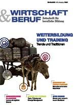 Wirtschaft & Beruf, Artikel Gerhard Krebs
