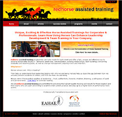 redhorse assisted training Eula Rohan Australia