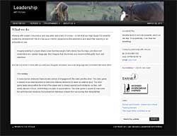 Paul Jackson, Sarah Jackson, Leadership with Horses