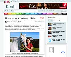 This is Kent Horses help with business training